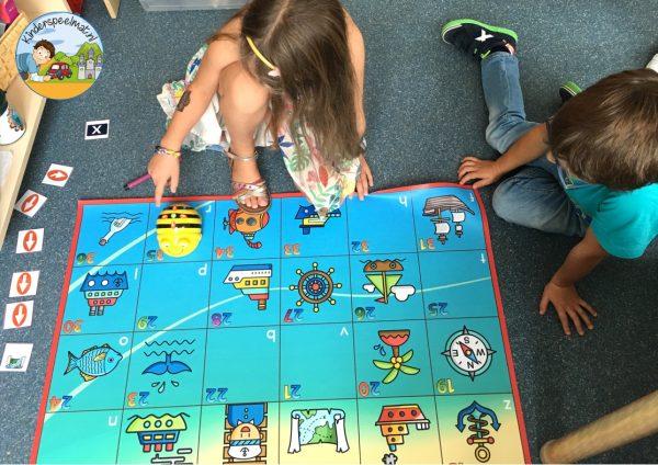 Bee-Bot mat haven 4g , kinderspeelmat
