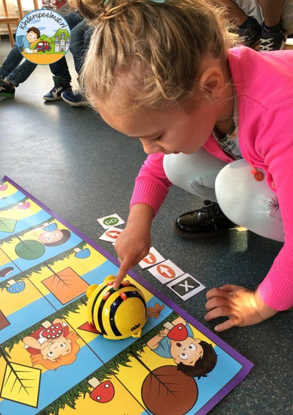 Bee-Bot mat herfst 1 , kinderspeelmat