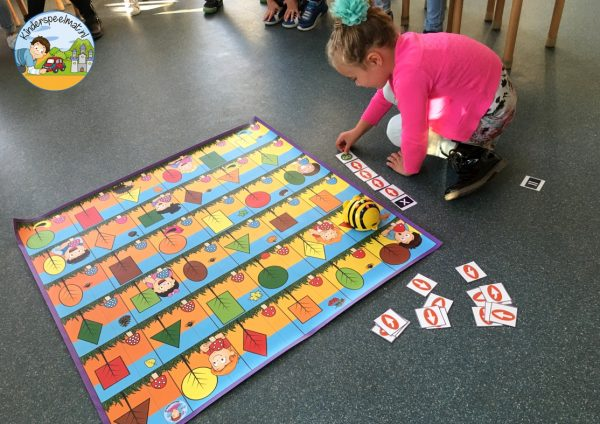 Bee-Bot mat herfst 2 , kinderspeelmat