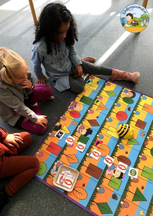 Bee-Bot mat herfst 3 , kinderspeelmat