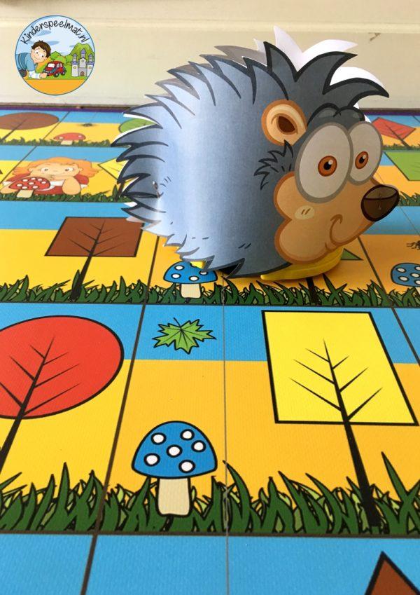 Bee-Bot mat herfst 4 , kinderspeelmat