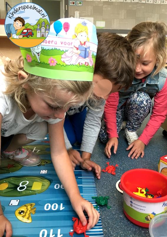 Kikkermat rekenen, kinderspeelmat 11