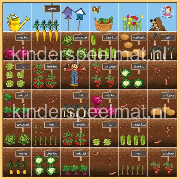 Thumbnail Bee-Bot mat tuin , kinderspeelmat