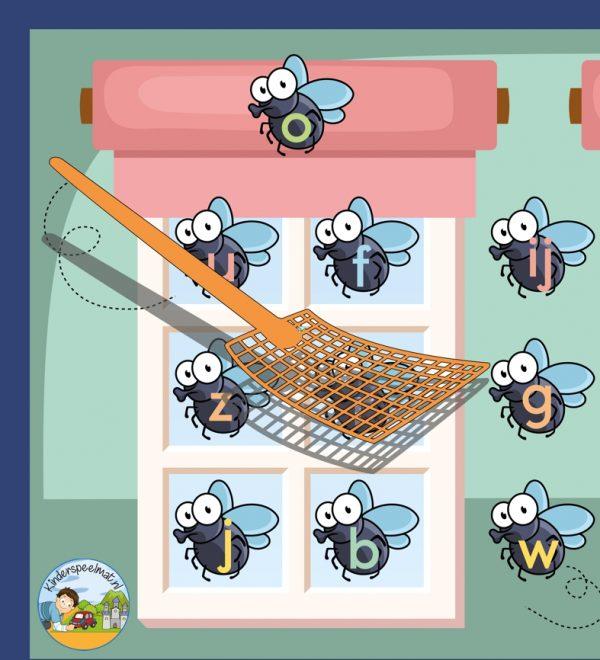 Vliegenmeppermat, kinderspeelmat 3