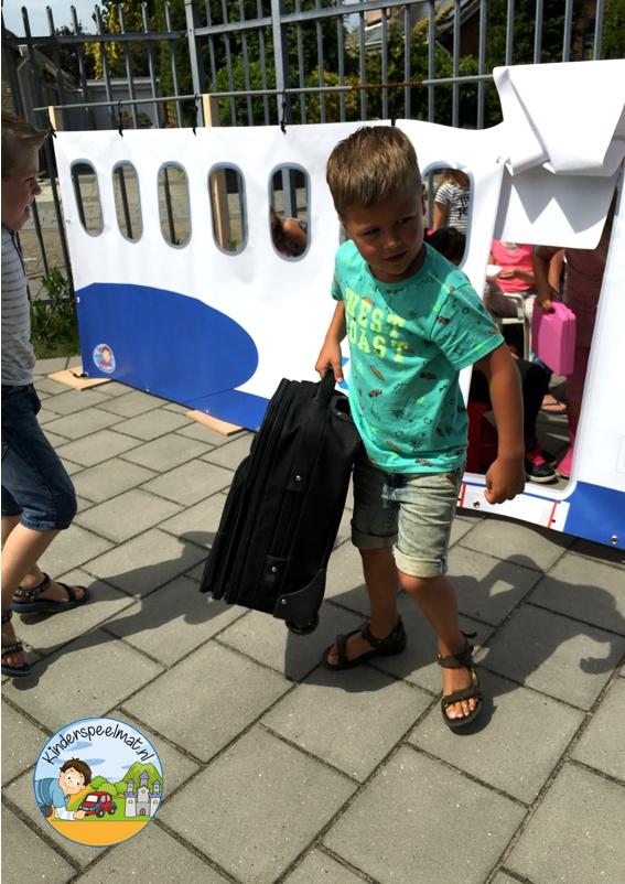 Vliegtuig rollenspel, kinderspeelmat 10