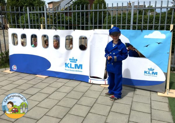 Vliegtuig rollenspel, kinderspeelmat 3