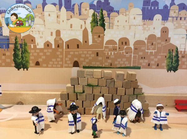 Achtergrond Jeruzalem, kinderspeelmat 1
