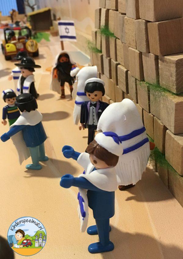 Achtergrond Jeruzalem, kinderspeelmat 6