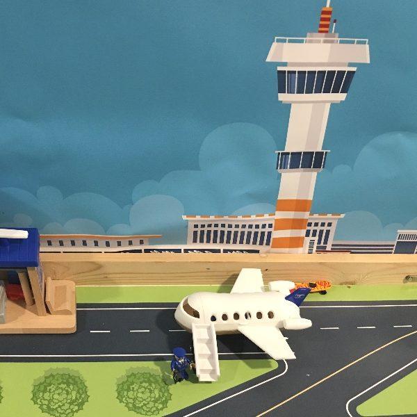 Achtergrond Vliegveld