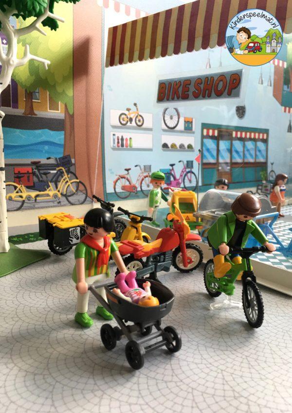 Ondergrond fietspaadjes, kinderspeelmat 13 b
