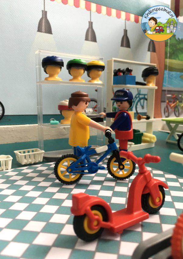 Ondergrond fietspaadjes, kinderspeelmat 14 b