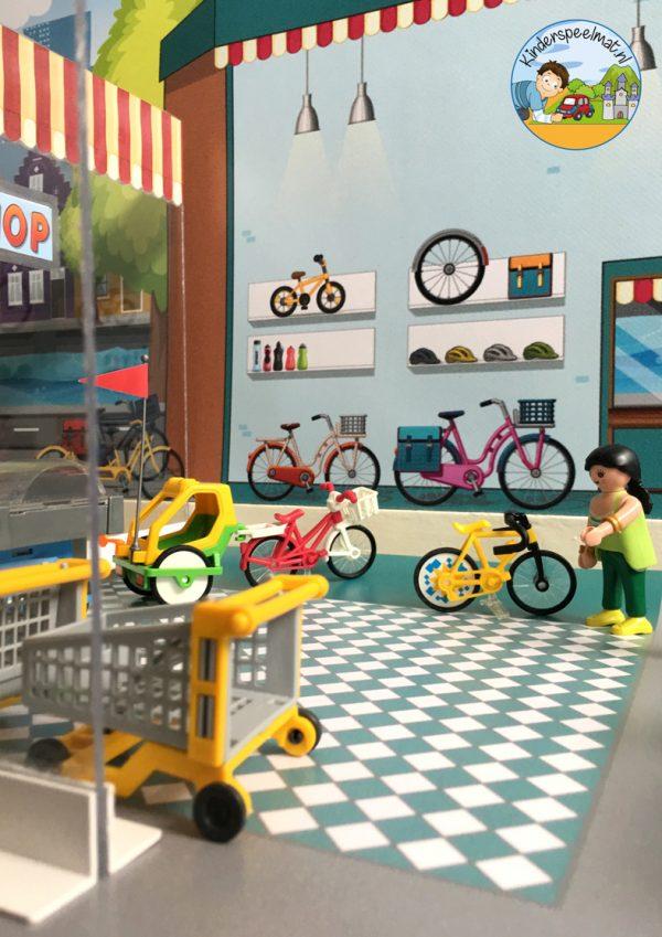 Ondergrond fietspaadjes, kinderspeelmat 15 b
