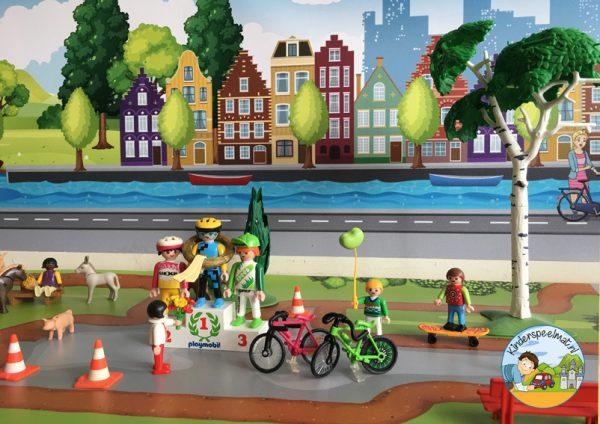 Ondergrond fietspaadjes, kinderspeelmat 2b