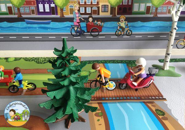Ondergrond fietspaadjes, kinderspeelmat 7 b