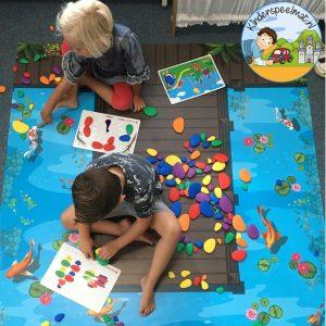 Thumbnail Kiezelvijver 2 , kinderspeelmat