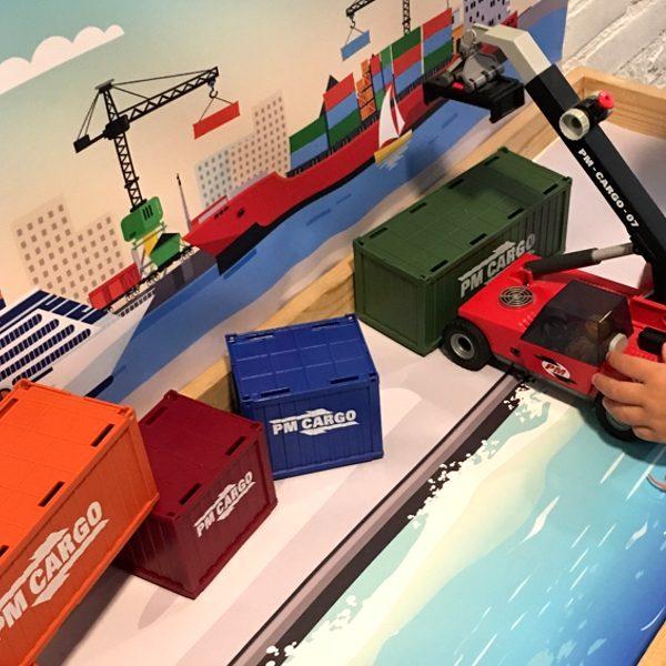 Watermat voor de haven 1, kinderspeelmat