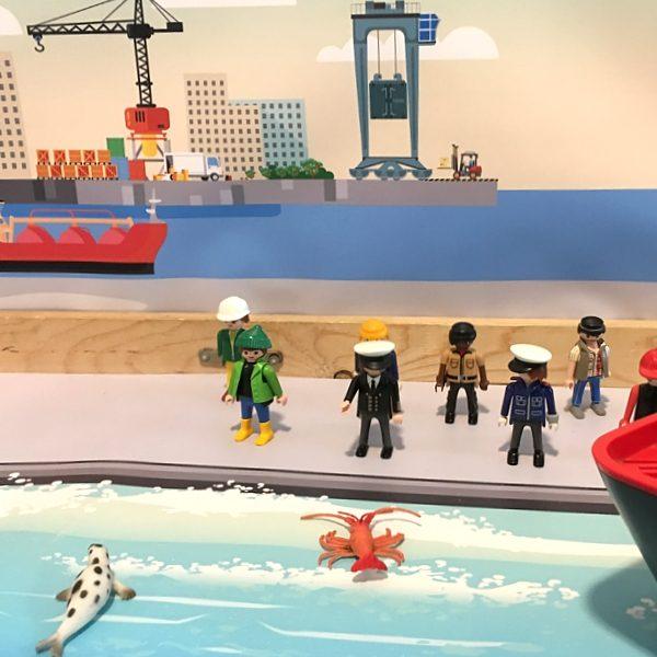 Watermat voor de haven 2, kinderspeelmat
