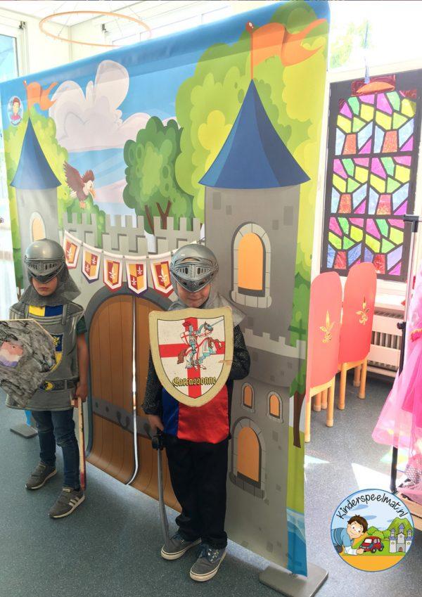 kasteelmat voor rollenspel ridders en prinsessen 2 k, kinderspeelmat