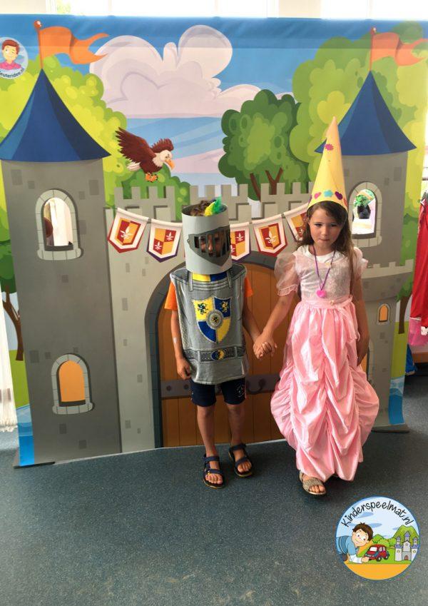 kasteelmat voor rollenspel ridders en prinsessen 3 b, kinderspeelmat