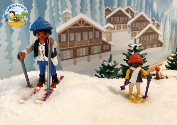 Achtergrond bergen winter 1 g kinderspeelmat