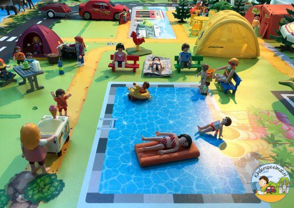 vloermat, speelmat camping, kinderspeelmat, kleuteridee 3
