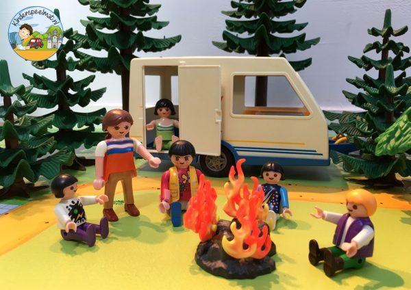vloermat, speelmat camping, kinderspeelmat, kleuteridee 4