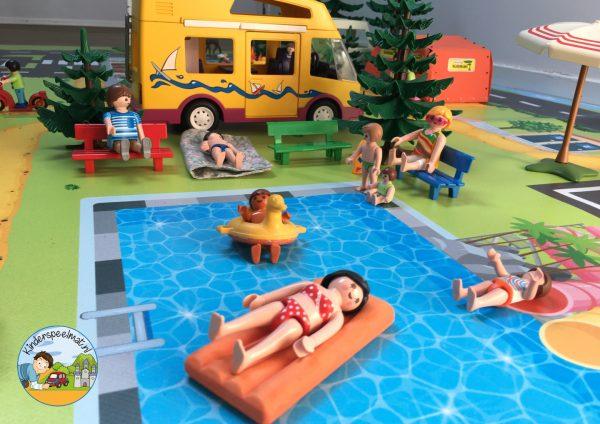 vloermat, speelmat camping, kinderspeelmat, kleuteridee 6