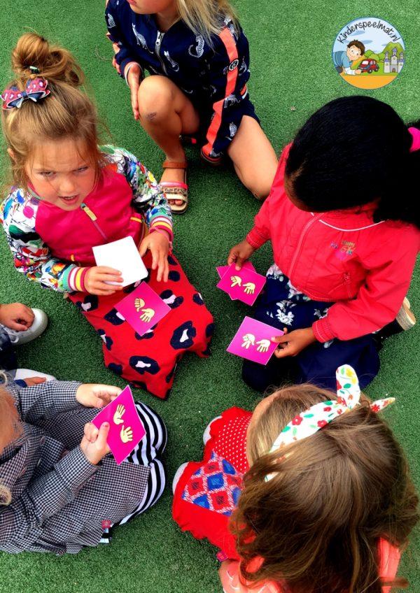 Bewegend leren cijfercombi, rekenen, kinderspeelmat 2