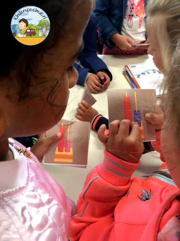 Bewegend leren cijfercombi, rekenen, kinderspeelmat 6