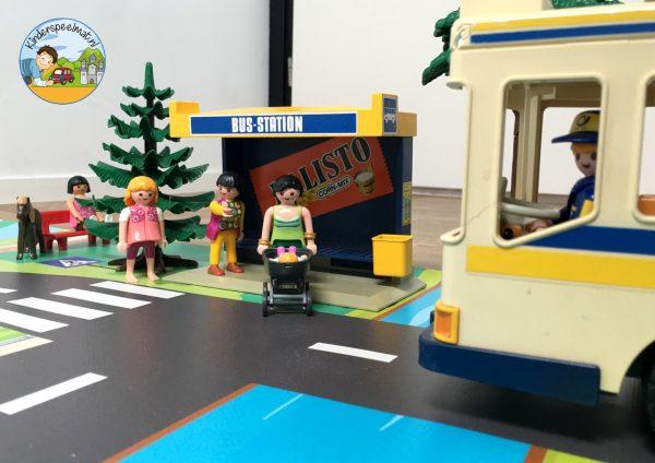 Vloermat, speelkleed stad kinderspeelmat, speelmat auto's kinderen