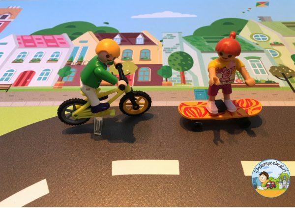 Vloermat, speelkleed stad kinderspeelmat, speelmat auto's kinderen 6