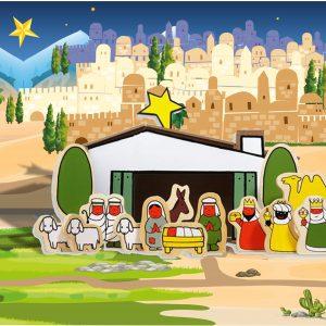 Speelmat kerst