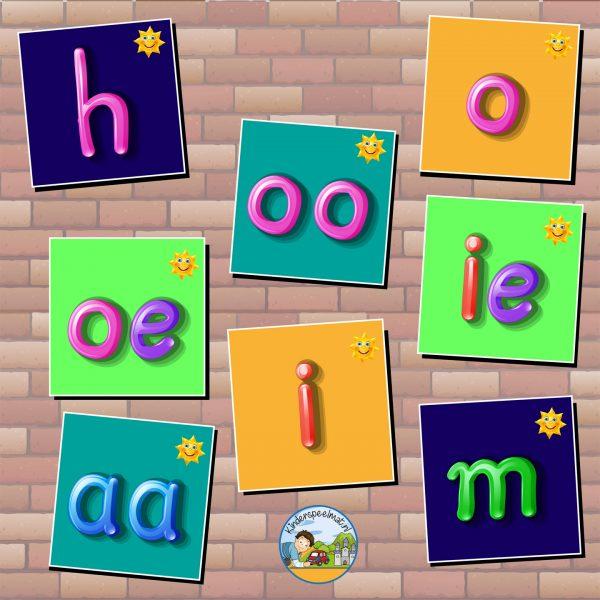 staptegels letters, kinderspeelmat thumb