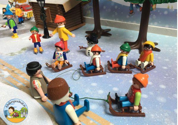 Speeltafel thema winter, sneeuw, kleuters, kleuteridee 2