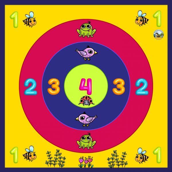 Scoremat voor kleuters, kinderspeelmat