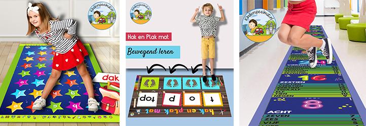 Educatieve speelmatten, kinderspeelmat