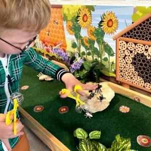 Speeltafel insecten Kinderspeelmat, Kleuteridee, thema insecten en kriebelbeestjes 3